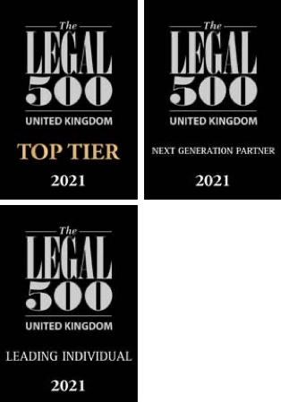 DM Legal 500 awards 2021